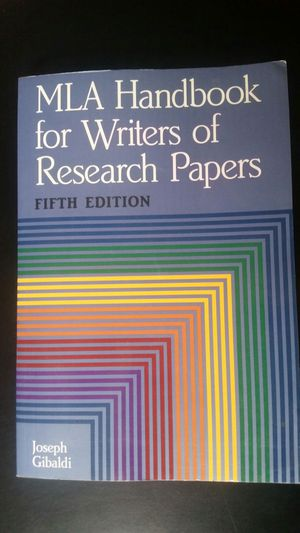 writing the research paper a handbook pdf