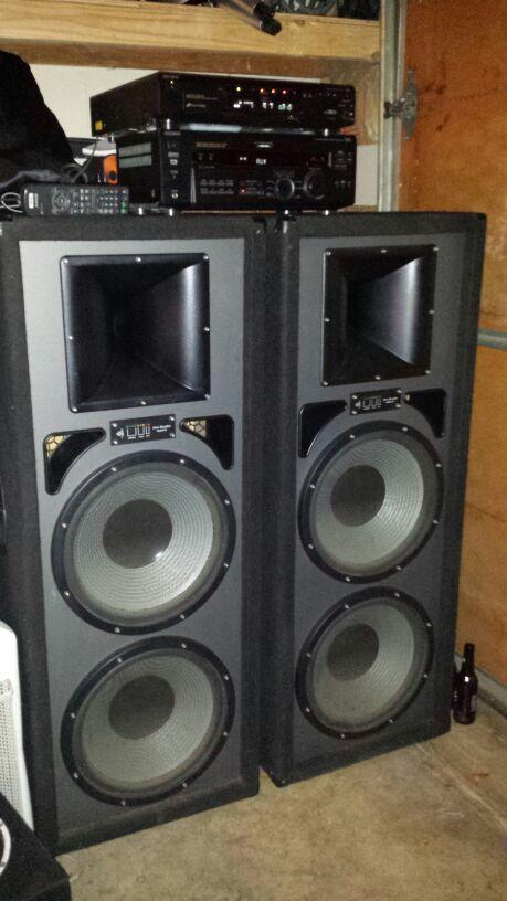 ProStudioMach2SpeakersAndSonySterioAudio