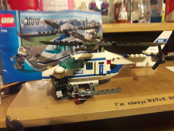 BrickLink  Instruction 77411  Lego Police Helicopter