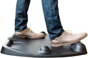 Ergonomic standing desk mat