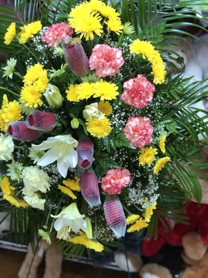 Fresh flowers for someone special!!!