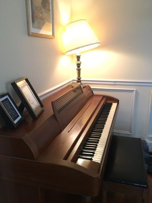 Built by Baldwin upright piano