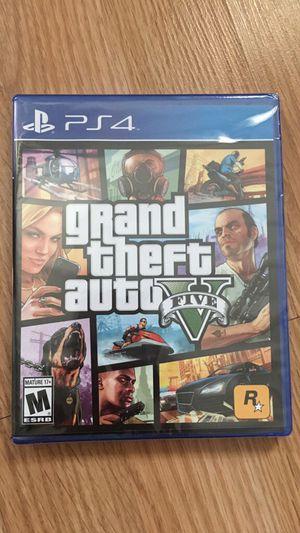 GTA 5 PS4 brand new, never used!