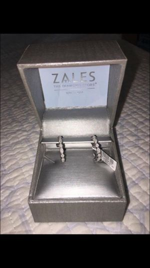 Hoop earrings from Zales