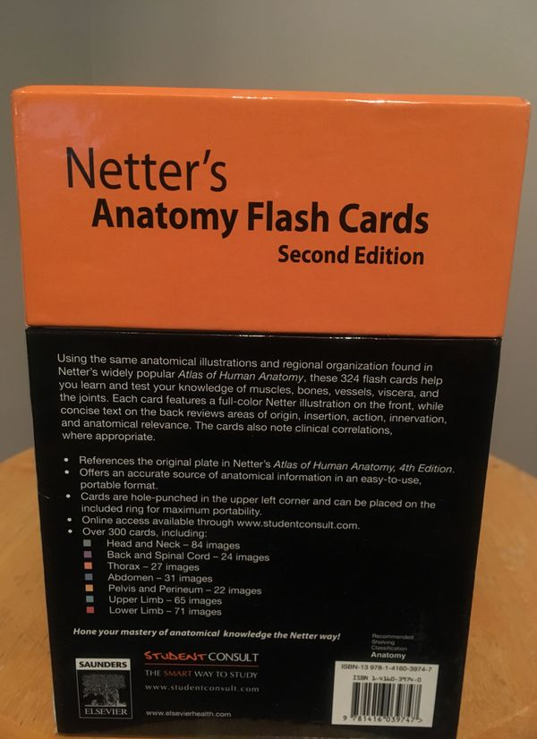 Amazing Netters Anatomy Flashcards Adornment Human Anatomy Images