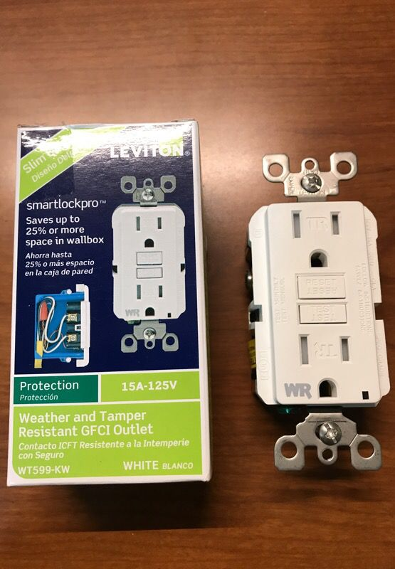 Electrical Outlet GFI - Leviton (Household) in Tonawanda, NY