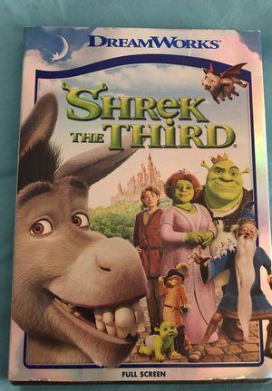 Shrek the Third (unopened Full Screen DVD)