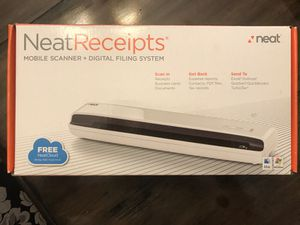 Neat Receipts Mobile Scanner & Digital Filing System