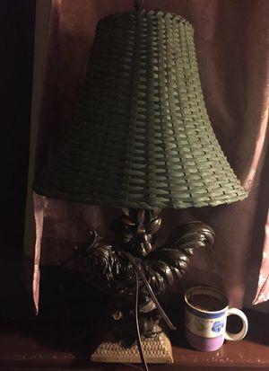 Chicken and bird vintage lamp
