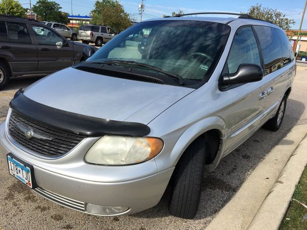 2001 Chrysler Town And Country Family Mini Van Cars