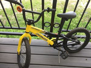 Hot rock specialized trick bike (kids) fresh basically brand new never rode just sitting on porch needs new owner to put to use