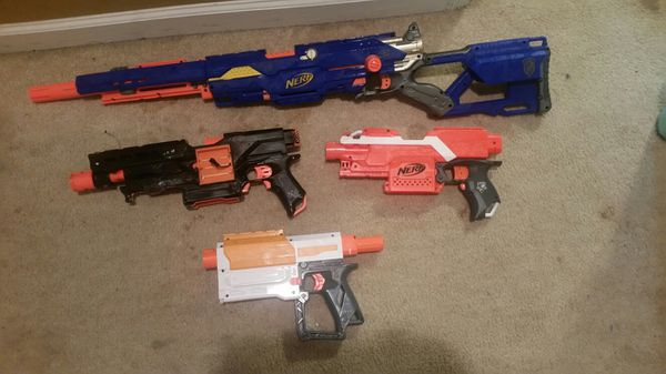 Modded nerf guns