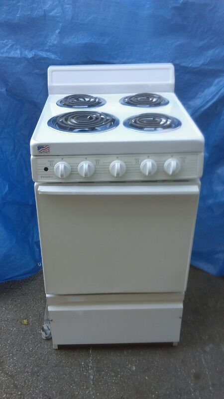 Apartment size electric stove 20\