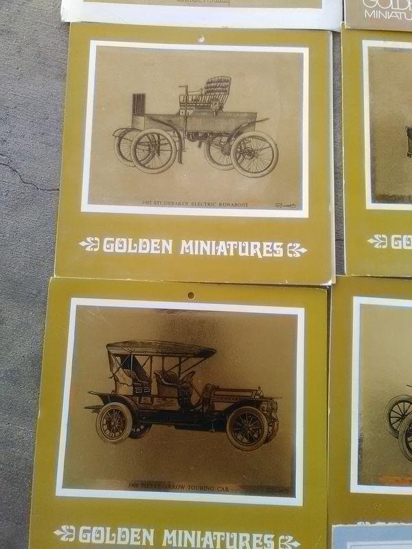 Old model cars cards 1950s (Photography) in Punta Gorda, FL