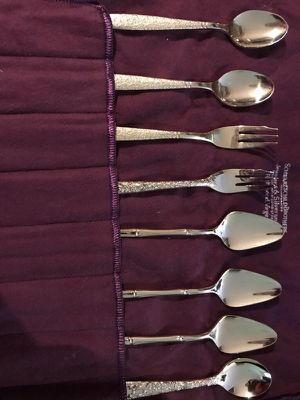 Gold Plated Miniature Utensils