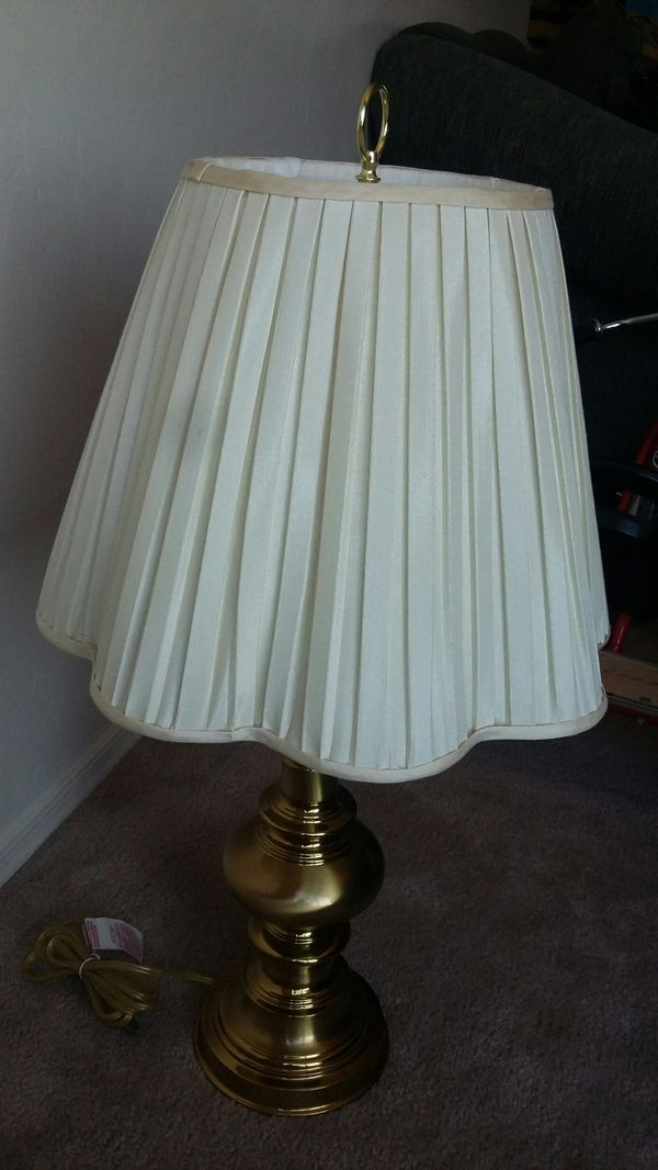 33 inches high solid brass table lamp from jcp clean and ready to 33 inches high solid brass table lamp from jcp clean and ready to use with light bulb antiques in tucson az offerup aloadofball Images