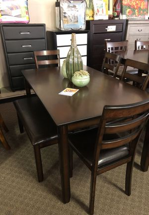 6pcs Dining Table Set We Offer No Credit Check Financing