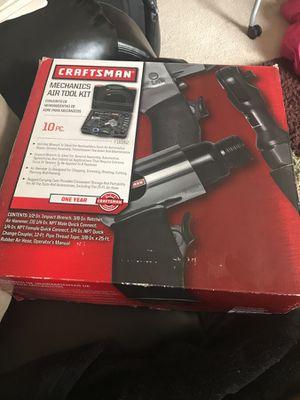 Craftsman mechanics air tool kit 10 pc