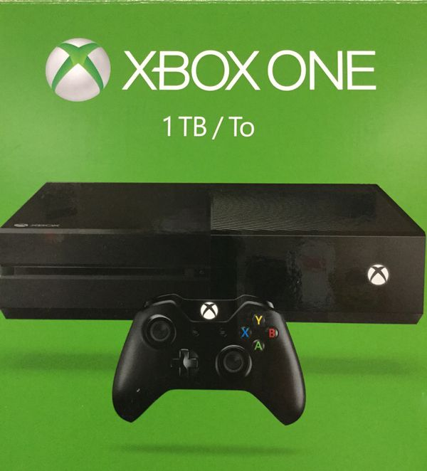 Xbox One 1Tb in Box Like New