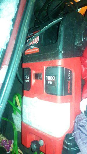 Force pressure washer