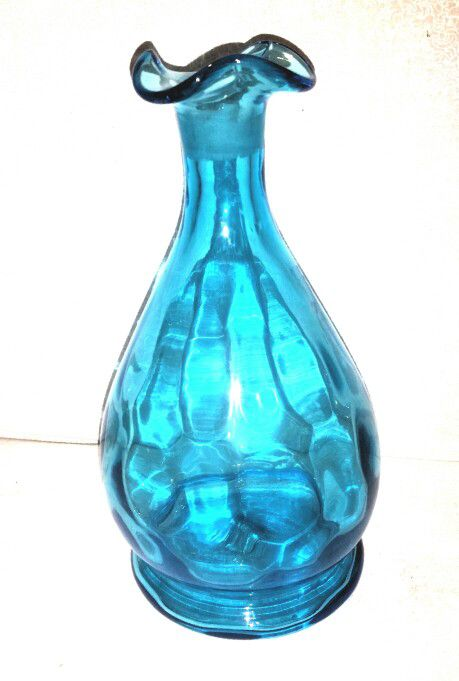 Antique Blue Glass Bottle Vase Antiques In Woodinville Wa Offerup