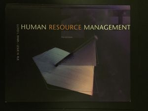 Text Book: Human Resource Management by Lloyd Byars