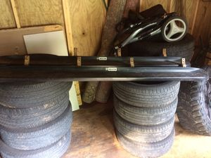 Step bars for 2003-2004 double cab tacoma