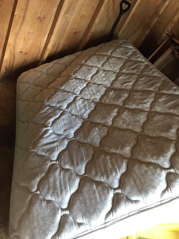 Free full size mattress.