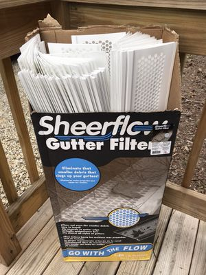White Gutter Guards Box of 52