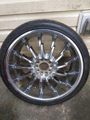 Twenty's rims & tires 600.00