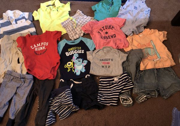 Baby Boy Clothes Size 6 9 6 12 9 12 Months Baby Kids In Pinellas