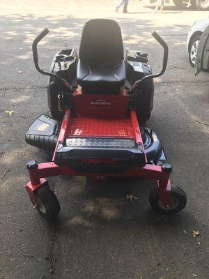 "Troy-Bilt Mustang 42"" Zero-Turn Rider Lawnmower"