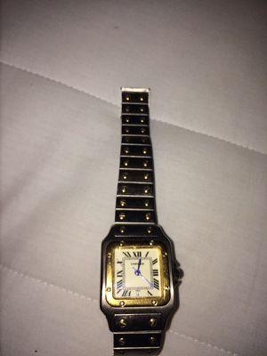 Cartier vintage men's watch