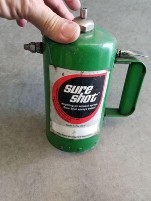 Sure shit sprayer