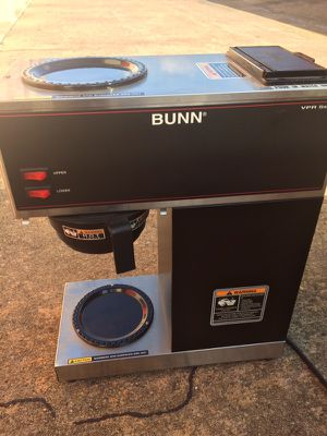 Bunn Two Burner Commercial Coffee System