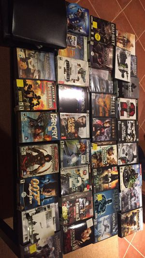 PC GAMES (mostly first person shooters)