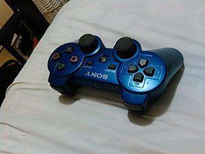 Blue ps3 controller
