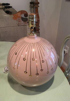 Fun vintage lamp!