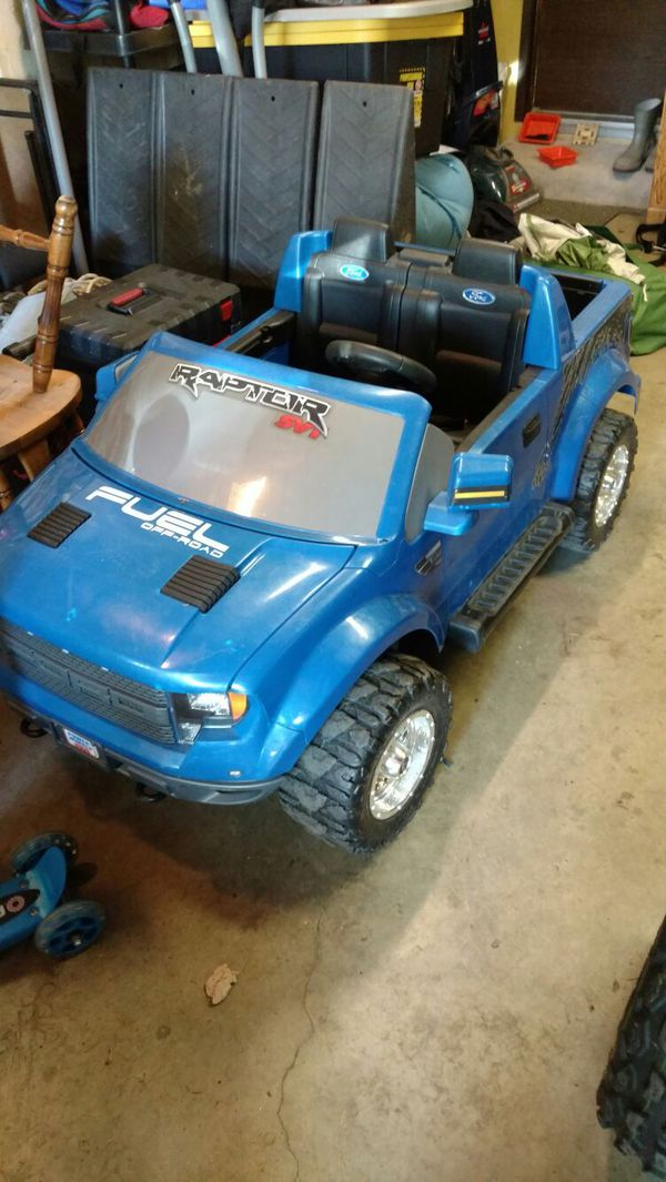 ford raptor power wheels games toys in mill creek wa. Black Bedroom Furniture Sets. Home Design Ideas