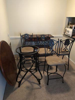 Full Dining Room Table Set Cabinet Dresser