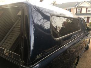 Camper shell 8 foot bed Chevrolet or gmc pick up