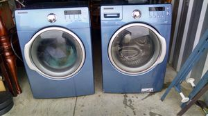 Samsung VRT Washer and Dryer