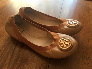 Authentic Tory burch Flats 7.5 Size