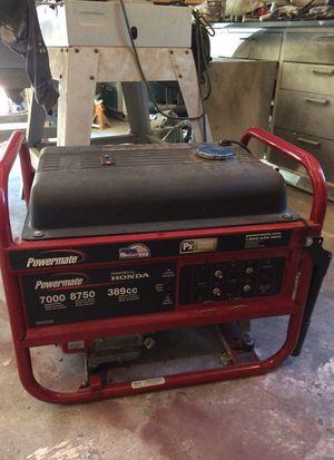 Generator/ powermTe Honda, gas 240 v