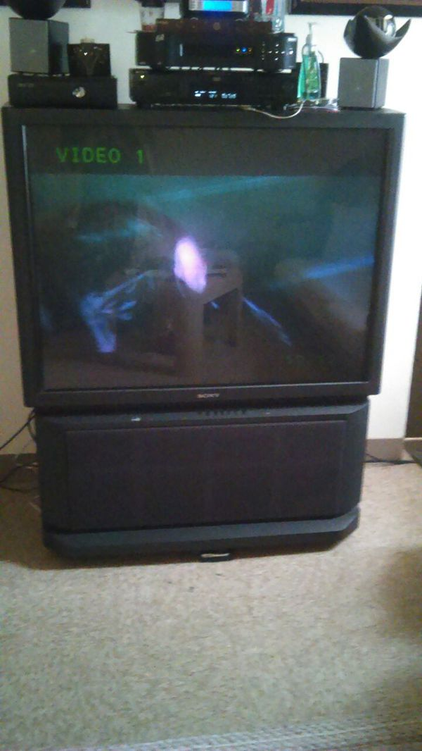 sony tv 50. 50 inch sony floor model tv great picture new tube t