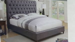 Queen bed. Devon available 3 colors