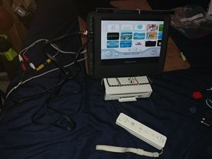 Portable White Wii Console
