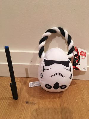 Star Wars Stormtrooper Rope Dog Toy New