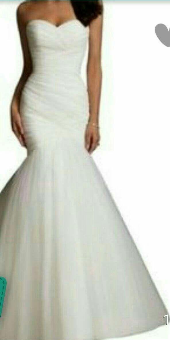 Mermaid style Wedding dress (adjustable) (Clothing & Shoes) in ...