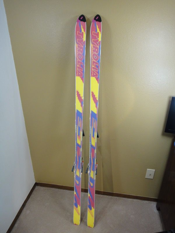 Tyrolia Mc5 Graphite Skis 190 With Tyrolia 660 Bindings